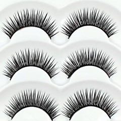 Eyelashes lash Eyelash Thick / Natural Long Volumized / Natural / Thick Fiber