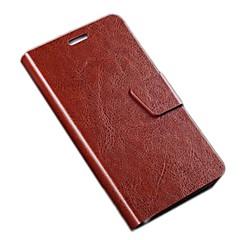 miatone® PU läder hela kroppen fallet med stativ och kortplats för Samsung Galaxy S II i9100