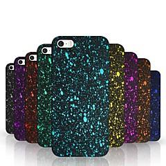 caso pc rígido padrão de céu estrelado para iPhone 5 / 5s