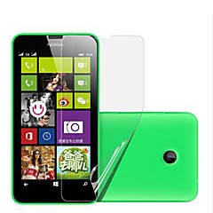 high definition screen protector voor de Nokia Lumia 630/635