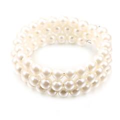 Fashion Twine White Pearl Strand Bracelets(1 Pc)