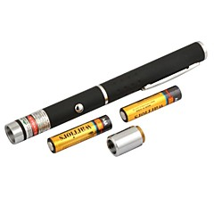 lt-8883 säädettävät polttava punainen kynä muoto laserosoitin (4mw.650nm.2xaaa.black)