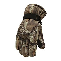 Snowboard Skiing Riding Cycling Sports Gloves Outdoor Windproof Winter Thermal Thick Warm Men Camouflage Random Color
