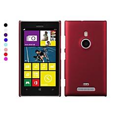 pajiatu telemóvel duro pc tampa traseira shell caso para nokia lumia 925 (cores sortidas)