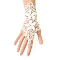 Exquisite Fashion White Bud Silk Flower Lady Bracelet