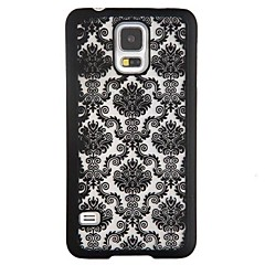 For Samsung Galaxy Note Stødsikker Mønster Etui Bagcover Etui blondedesign PC for Samsung Note 4