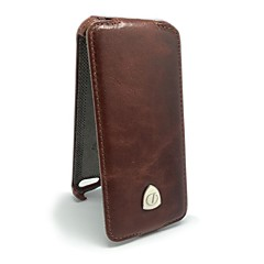 Miatone® Crazy Horse Flip Genuine Leather Full Body Case for iPhone 5/5S