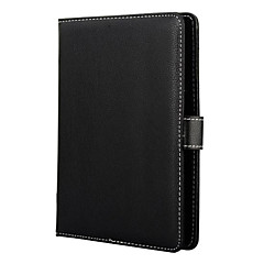 Black Lichee Pattern Magnetic Flip Stand Leather Wallet Case for 8 Inch Tablet PC
