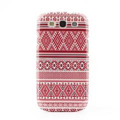 Aztec heimojen tyyli kova takaisin suojakotelo Samsung Galaxy S3 i9300