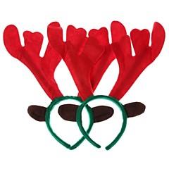 Noël décorations tête de wapiti cerceau (polygonale) (2pc)