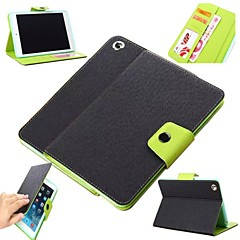 Litchi Pattern Fresh Mint Full Body Case with TPU Soft Cover and Stand  for iPad mini/mini 2/mini 3 (Assorted Colors)