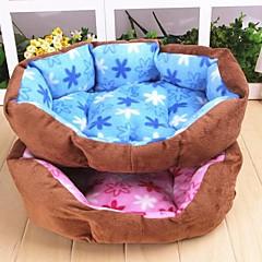 caldo fiore modello nido peluche per cani da compagnia (a colori assortiti)
