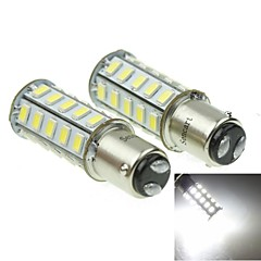 1157 20W 36X5730SMD 800-1200LM 6000-6500K White Light Led Bulb for Car Brake Lamp(A pair/AC12-16V)