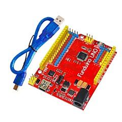 Funduino uno del tablero del desarrollo ATmega328P