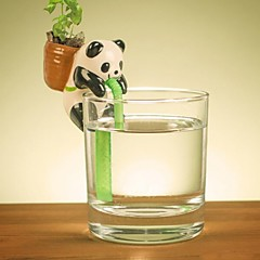 neje selvtillit vanning dyr plante planters - panda (basilikum)