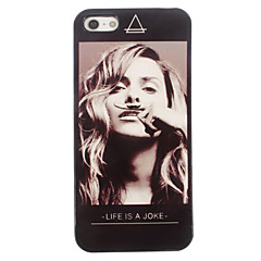 Life is a Joke Design Aluminum Hard Back Case for iPhone 5/5S