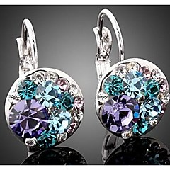 Earring Drop Earrings Jewelry Women Wedding / Party / Daily / Casual Crystal