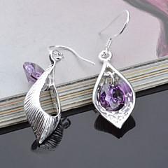 Earring Stud Earrings / Drop Earrings Jewelry Women Titanium 2pcs Silver
