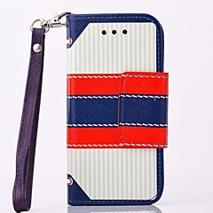 Multi-fonction Vintage London PU Leather Full Body Case with Stand for iPhone 4/4S(Assorted Colors)