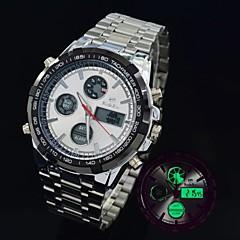 casuale orologio multifunzionale impermeabile 30m maschile ha portato militare digitale analogico orologi orologio sportivo (colori assortiti)