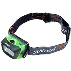 Headlamps LED 3 Mode 17 Lumens Waterproof AAA Cycling / Fishing / Working / Climbing / Multifunction - Others , Green ABS