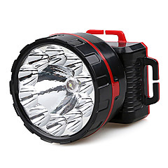 JiaGe YD-3313 Single-mode 10xCree Rechargeable Headlamp(Black)