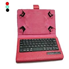 דגני יצ'י הפרמיה th07c נרתיק עור pu עם מקלדת Bluetooth עבור 7 אינץ 'מחשב לוח (צבעים שונים)