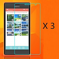 (3 stuks) high definition screen protector voor de Nokia Lumia 730