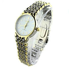 Women's  Mini Round Dial Alloy Band Quartz Analog Wrist Watch Cool Watches Unique Watches