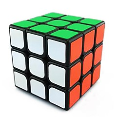 Jouets Cubes magiques 3*3*3 Vitesse magic Toy Cube de vitesse lisse Magic Cube Puzzle Noir ABS