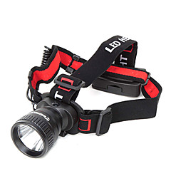 Headlamps LED 2 Mode 150 Lumens Waterproof AAA Camping/Hiking/Caving / Cycling / Hunting / Working / Climbing / Fishing - Others , Black
