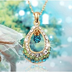 Pendant Necklaces Alloy / Rhinestone Wedding / Party / Daily / Casual / Sports Jewelry