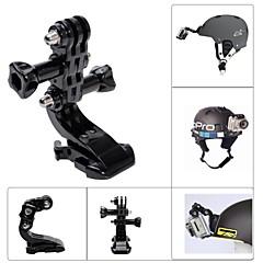 fat cat-m h3 verstelbare helm mount voor GoPro hero 4/3 + / hero3 / HERO2 / Held - zwart