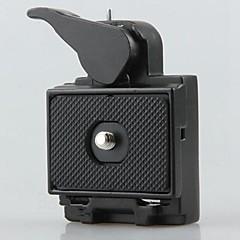 2v1 sedadla&uvolňování deska pro digitální zrcadlovky stativu monopod hlavy baterkou rychlá montáž 1/4 3/8 šroub