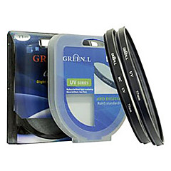 (62mm) feuille verte filtre UV