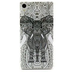 Elephant Pattern TPU Soft Cover for Sony Xperia Z3