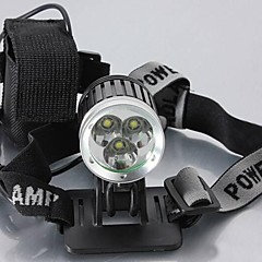 LT-79233 4Mode 3xCREE XM-L T6 LED Rechargeable Headlamp(4200LM.4X18650.Black)