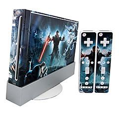 Wii-konsol mærkat hud dækning