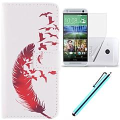 Mert HTC tok Kártyatartó / Pénztárca / Állvánnyal / Flip Case Teljes védelem Case Toll Kemény Műbőr HTC
