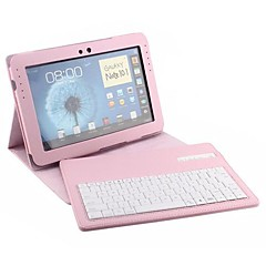 PU Detachable Type Case in Bluetooth Wireless Keyboard for Galaxy Note 10.1inch N8000 (Assorted Colors)