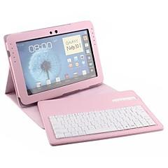 pu abtrennbar Fall in Bluetooth drahtlose Tastatur für Galaxieanmerkung N8000 10.1inch (farblich sortiert)