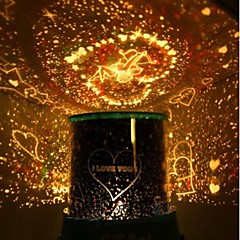 LED Star lights-Cupid star lovers projection lamp night light
