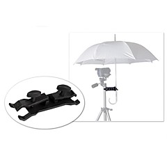 POPLAR® SLR Camera Umbrella Clip Sun-shading Clip Side-knotted Clip Tripod Photography Accessories Emperorship