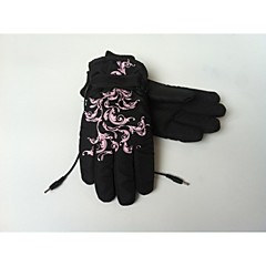 Electric Rechargeable Heated Warm Gloves Adjustable Elastic & Velcro Band, Works up to 8 hours