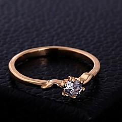 Six Claw Zircon Ring
