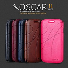 Promotion Three Yu Series Phone Leather Cases for Samsung Galaxy Style DUOS I8262D(Assorted Colors)