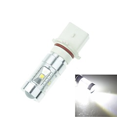P13W PG18.5D1 30W 6xCREE Cold White 2100LM 6500K for Car Fog Light (AC/DC12V-24)