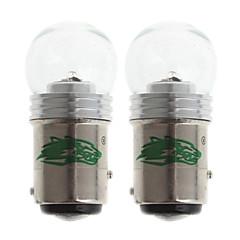 zweihnder 1157 5W 480lm 7000-7500k smd 1x3535 SMD LED kaltweiß Glühlampe für Auto Bremsleuchte (12-24V, 2 Stück)