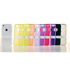 아이폰에 대한 단색 TPU 소프트 케이스 5 / 5C / 5S (모듬 색상)
