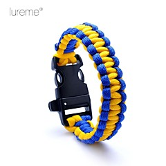 Survival Whistle / Survival Bracelet Vandring Overlevelse / Whistle Nylon andet